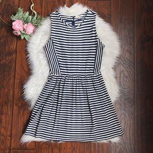 Madewell Afternoon Stripe Sleeveless Dress